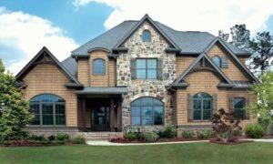 Самые необычные варианты отделки фасадов домов
