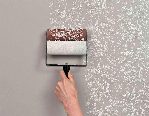 Применение фактурной краски в интерьере