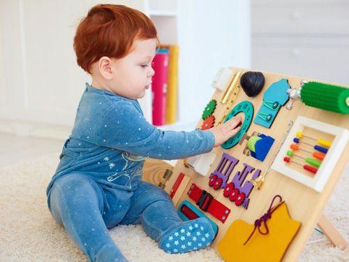 Инструкция как сделать бизиборд для малыша