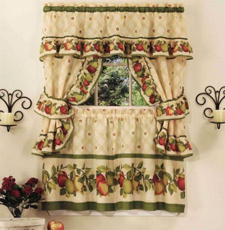 Интерьер в стиле кантри: как выбрать шторы