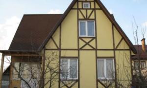 Как использовать ОСБ на фасаде дома: обработка, покраска, идеи
